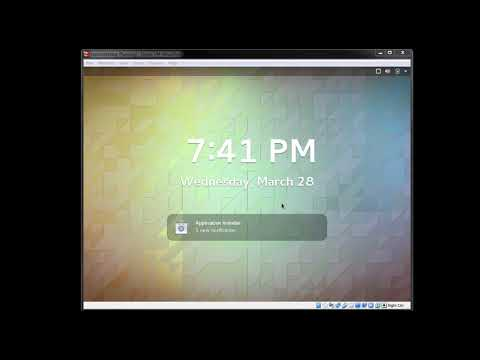Linux CentOS How To Log Back In Virtualbox When It Goes To Standby