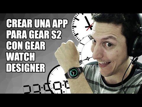 Crea tu propia App con Gear Watch Designer - Diseño y Programación Web