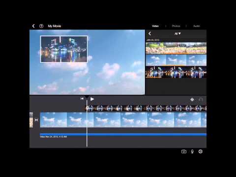 iMovie iPad Tutorial (How to edit Video Clips)