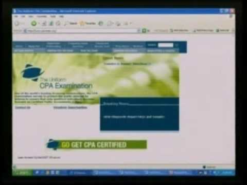 Certified Public Accountant Reg Tax Sample Movie 2