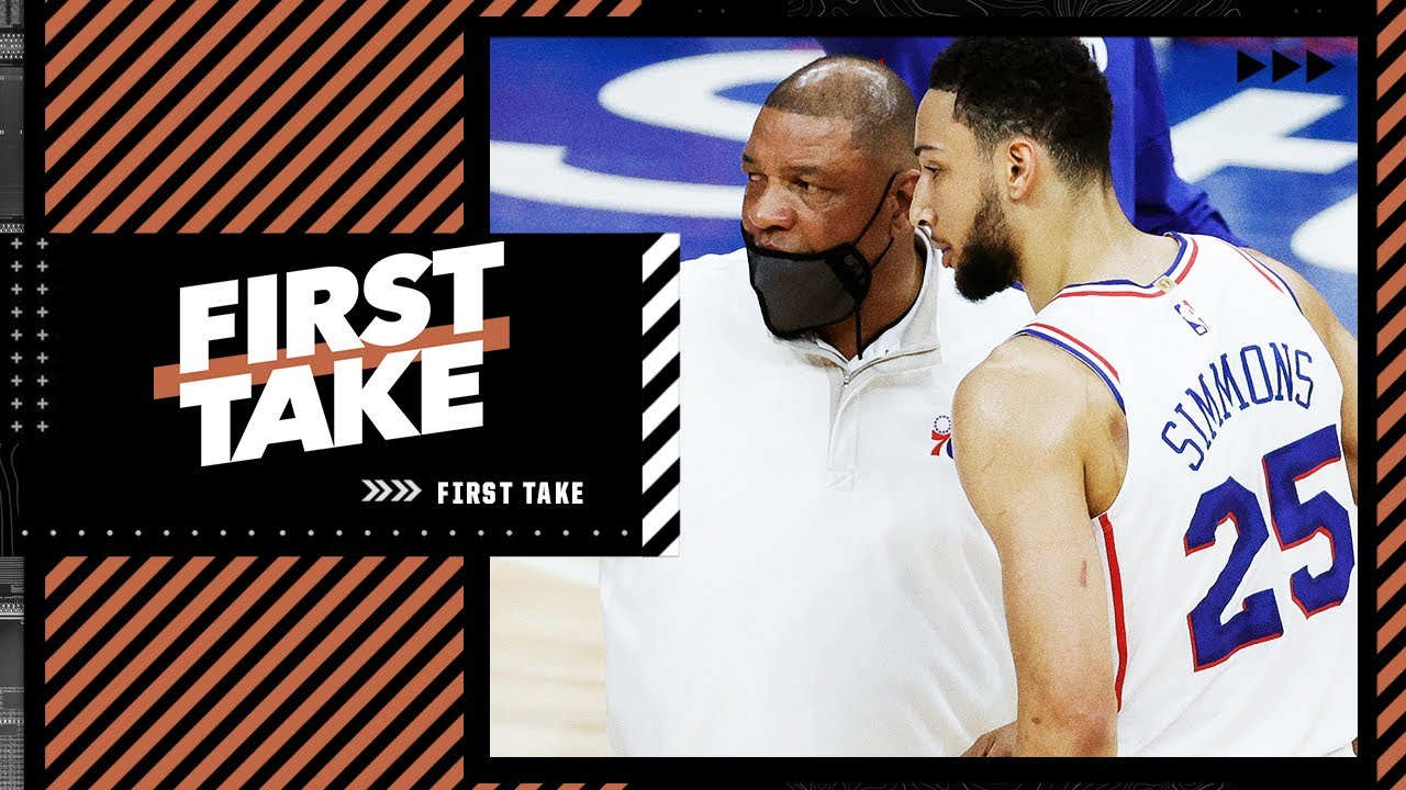 Scottie Pippen says Doc Rivers set up Ben Simmons for failure. Stephen A. reacts | First Take