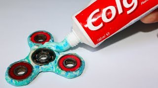 How To Make Toothpaste Fidget Spinner + The Winner of our GIVEAWAY