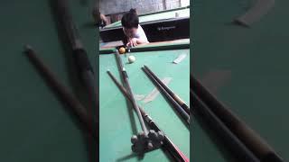 Amazing billiard tricks 5 years old