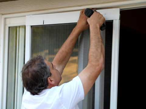 How to Replace a Sliding Screen Door