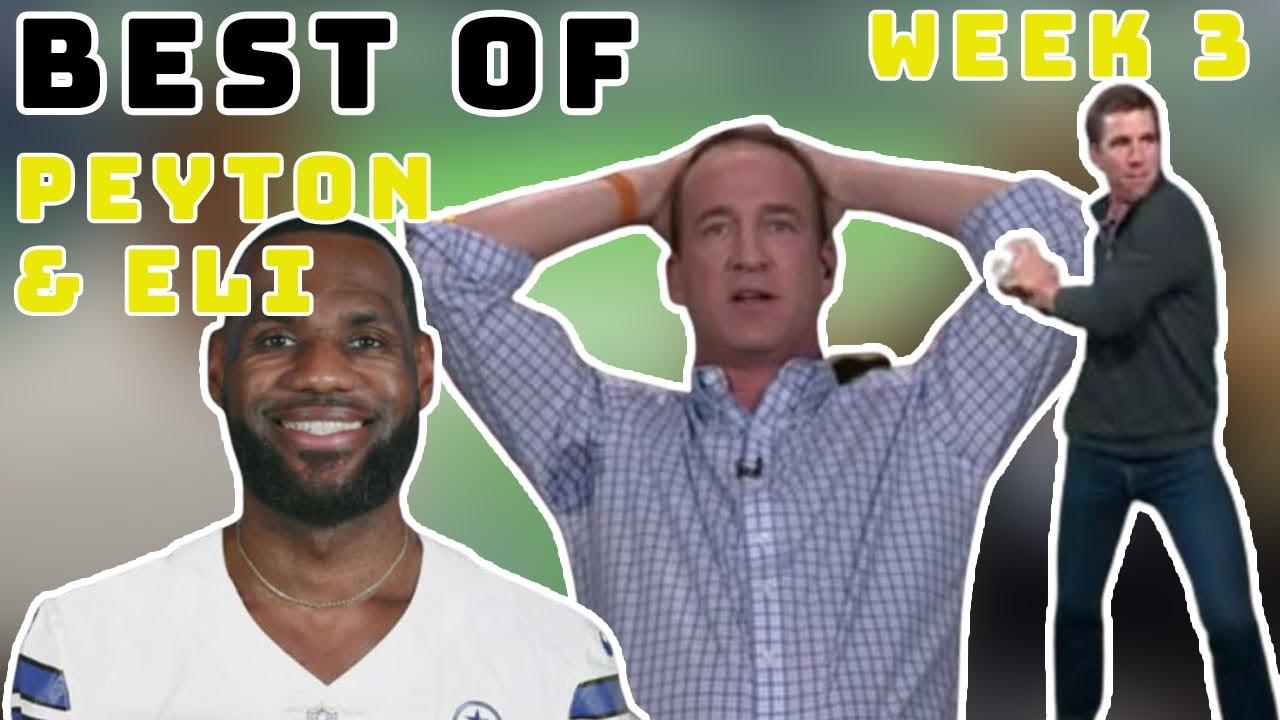 Best Of the Manning Bros Week 3 'MNF' Philadelphia Eagles vs. Dallas Cowboys