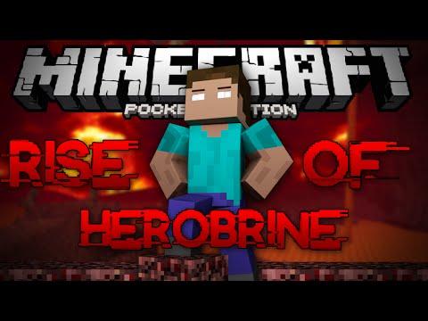 Minecraft PE - THE RISE OF HEROBRINE (MCPE MODDED MAP)