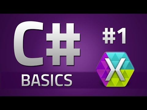 1. How to program in C# - BASICS - Beginner Tutorial