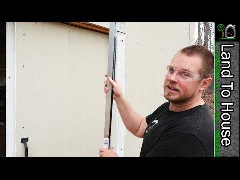Door Weather Strips and Trim - Build a Workshop #49