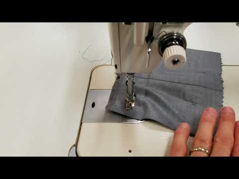 Servo motor speed control on Juki Single needle sewing machine