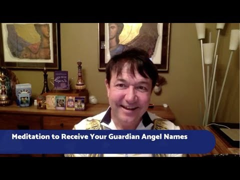 Meditation for Receiving Your Guardian Angels Names