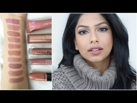 My Favorite Nude Lipsticks! Perfect For Medium/Tan Skin!