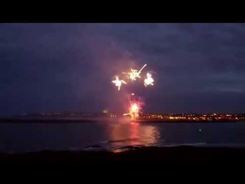Jubilee Fireworks @ Tynemouth