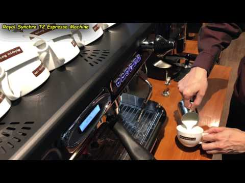Frothing Milk for Latte Macchiato & Cappuccino (Using the Royal Synchro T2 Coffee Machine)