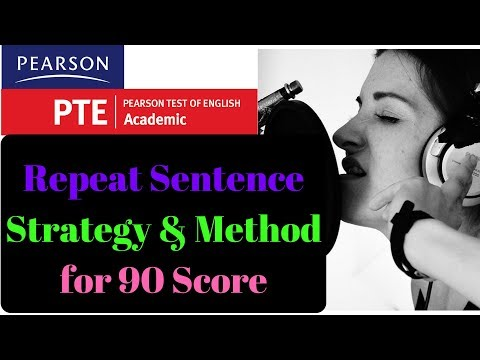 PTE Repeat Sentence Tips for 90 Score