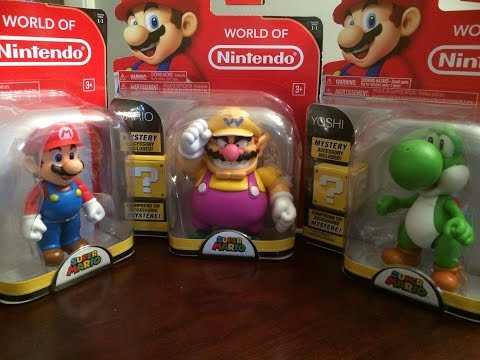 World Of Nintendo 6-Inch Action Figures Unboxing Part 1