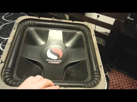 Subwoofer Encounter with a Kicker Solo-Baric L7