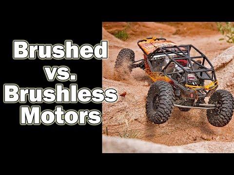 Brushed versus Brushless motor comparison