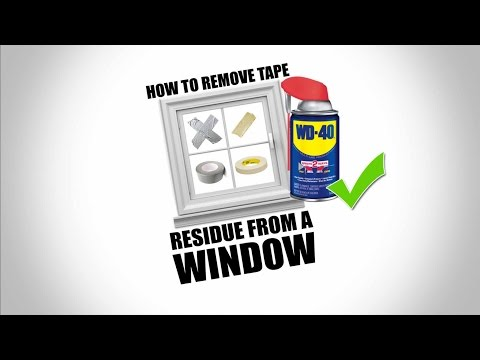 How to Remove adhesive residue  from acrylic, plastic, and glass without damage