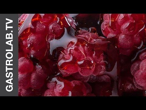 DOLCISSIMO - Raspberry with Black Balsamic Vinegar Syrup || Gastro Lab