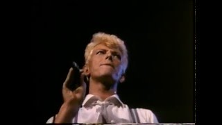 David Bowie sings