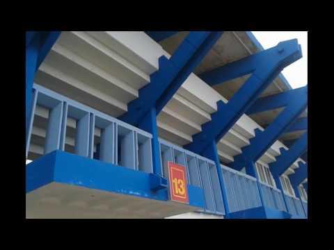 American Tourist Visits Calixto García Íñiguez Baseball Stadium - Home of Sabuesos - Holguin, Cuba