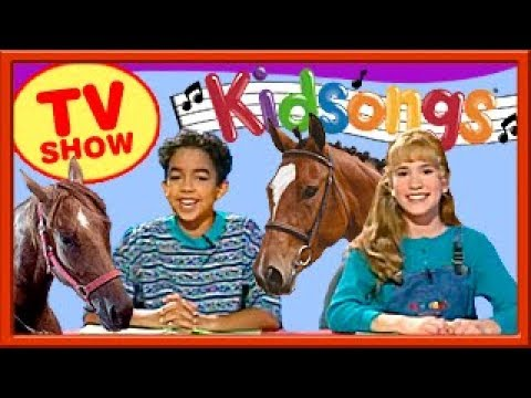 We Love Horses | Kidsongs TV Show | Kids Horses | Pony Fun | Over the River | Buffalo Gals | PBS Kid