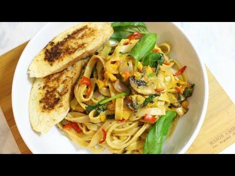 Rasta Pasta | Quick & Easy Vegan Pasta