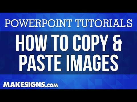 How To Copy & Paste Images Into Your PowerPoint Poster Presentation