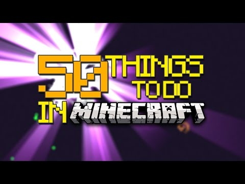 50 Incredible Things To Do In Minecraft