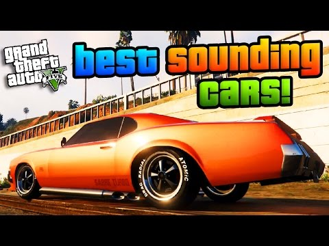 GTA Online: The Best Sounding Cars - Best Sounding Cars Showcase! (GTA 5 Best Cars)