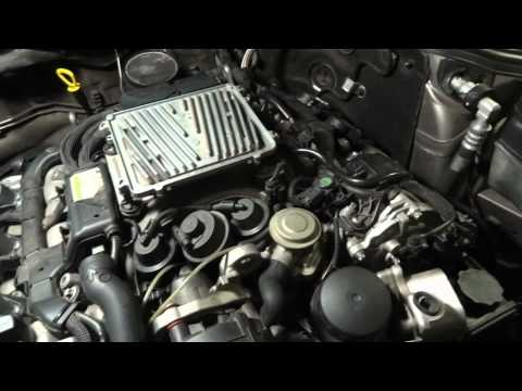 Mercedes-Benz E350  How to change a single fuel injector  part 1.avi