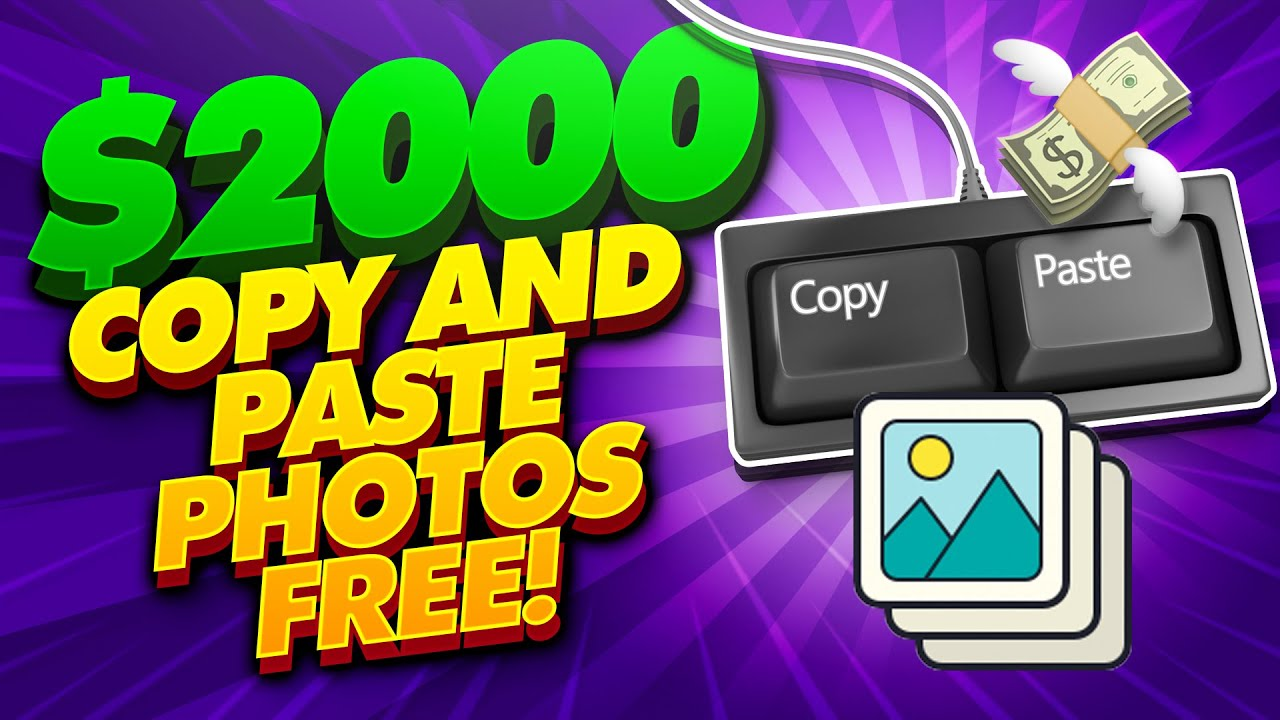 Earn $2,000+ Copying & Pasting Photos | FREE! (Passive Income)