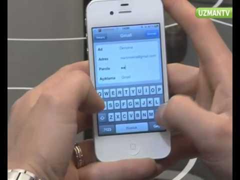 iPhone 4S Mail Kurulumu