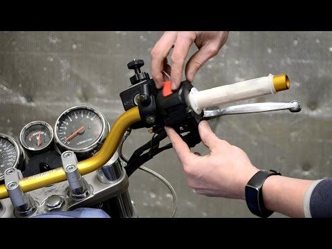 Installing Renthal Road Low Handlebars on a '97 Suzuki Bandit GSF1200S - OEM Comparison & Review