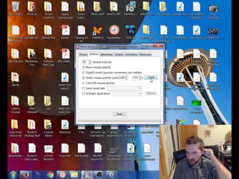Move Mouse software review and tutorial