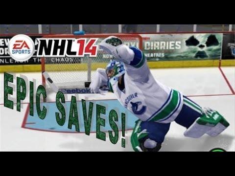 NHL 14 EPIC EASHL GOALIE MONTAGE