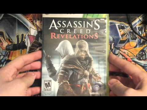 assassin's creed revelations  xbox 360 unboxing