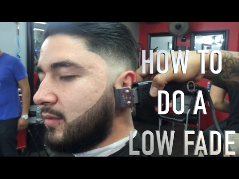 How To DO A Low Fade One On One Tutorial Step By Step Voice Over