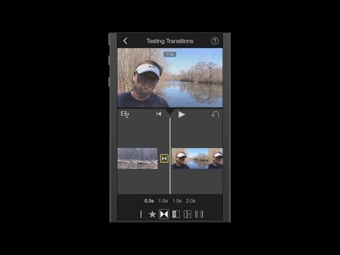 iPhone Apps ~ iMovie Transitions Tutorial