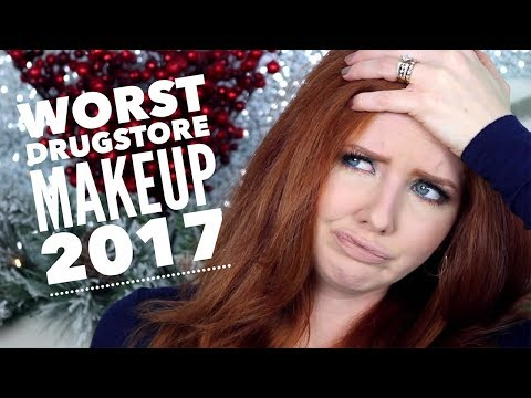 Worst Drugstore Makeup from 2017