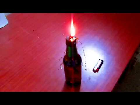 Beer Bottle Oil Lamp
