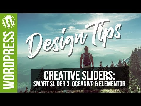 Design Tips: Building Better Looking Sliders with Smart Slider 3, OceanWP & Elementor