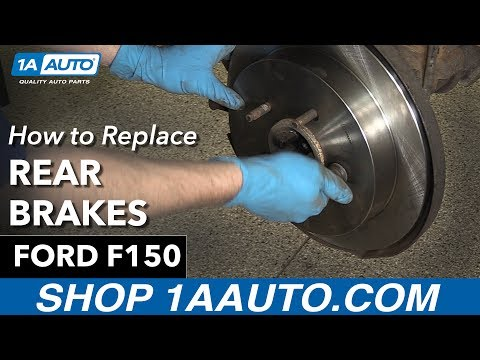 How to Replace Install Rear Brakes 1997-03 Ford F150 Buy Quality Auto Parts at 1AAuto.com