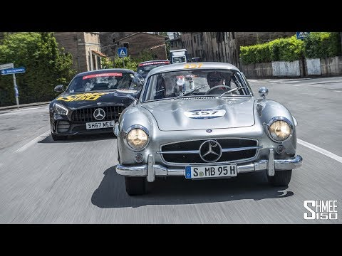 1,000 Miles in the Mercedes 300SL - My Mille Miglia | 2018 AFTERMOVIE