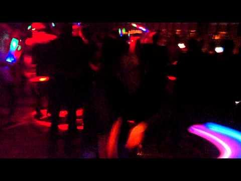 Night Vision w/ Simon Patterson & Sean Tyas @ Exchange LA 2012 -  Some cool glowstringing poi