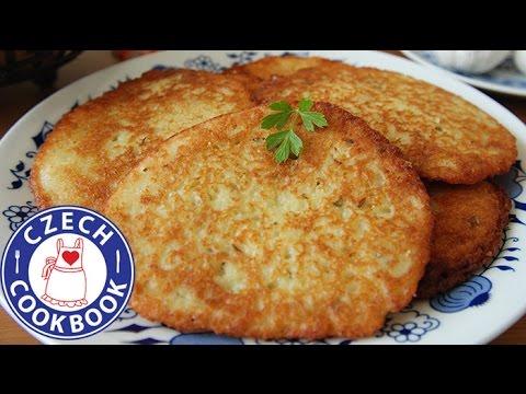 Potato Latkes Recipe - Bramborák - Czech Cookbook