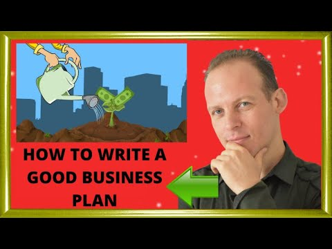 How to write a good business plan for your small business