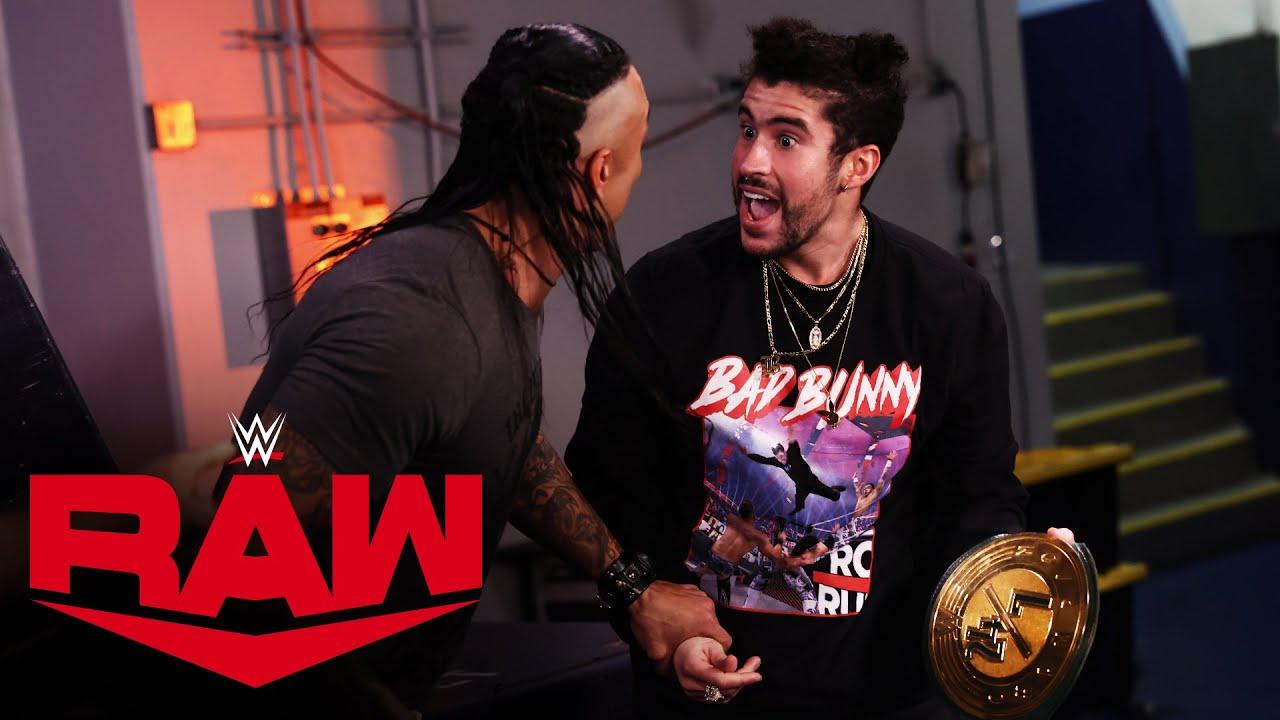 Bad Bunny becomes 24/7 Champion: Raw, Feb. 15, 2021