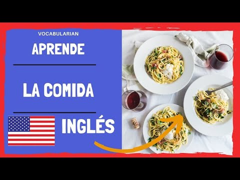 La comida en INGLÉS. The most popular snacks in english