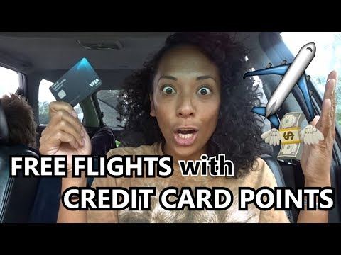 How to Get Free Flights with Credit Card Points 💸  FELICIA'S WALLET #4